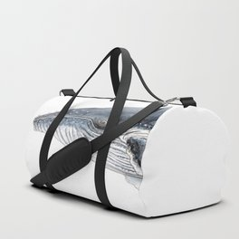 Humpback whale portrait Duffle Bag