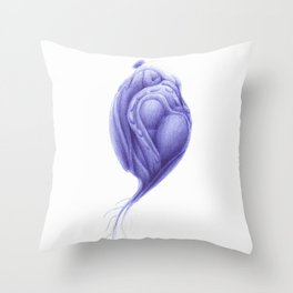 Vitae Sanctorum LXIII Throw Pillow