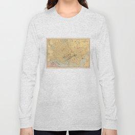 Vintage Map of Washington D.C. (1909) Long Sleeve T-shirt