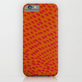 Bright Petals in the Wind iPhone Case