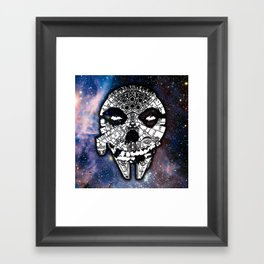 Sitfits - Millennium Fiend Skull Framed Art Print