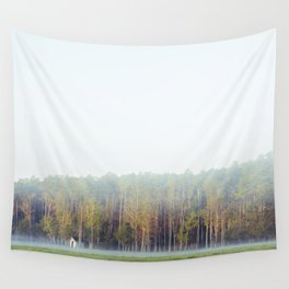 Misty Loneliness  Wall Tapestry
