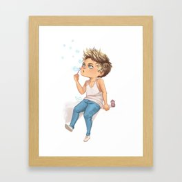 Bubble Niall Framed Art Print