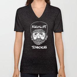 Socialist Tendencies Unisex V-Neck