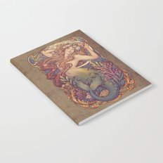 Andersen Little Mermaid Nouveau Notebook