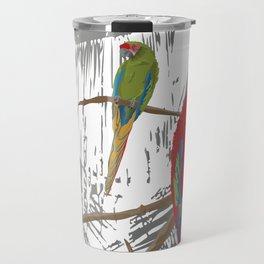Spice Island Tropical Bird Art Print Travel Mug
