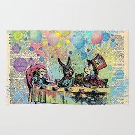 Tea Party Celebration - Alice In Wonderland Rug