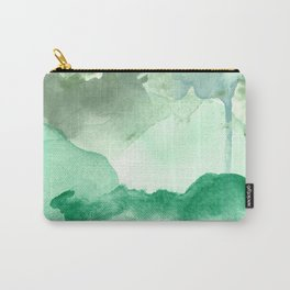 Meadow Pool Abstract Carry-All Pouch