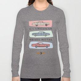 Motor Style Inc.: 60s American Heavy Metal Long Sleeve T-shirt