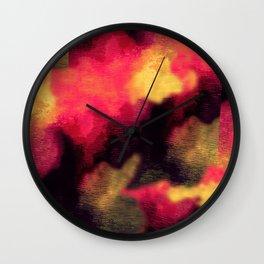 Cubism sky Wall Clock