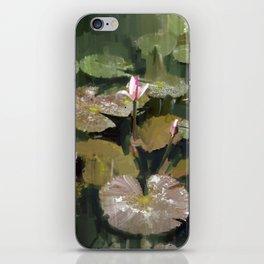 Lotus Pond 3 iPhone Skin