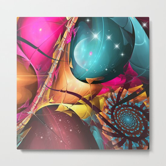 The big bang in Universe Metal Print