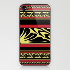Maldivian Lacquer Work iPhone & iPod Skin