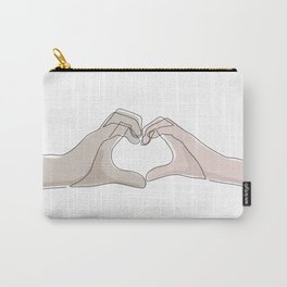Hand Heart Shades Carry-All Pouch