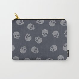 Skull Lines Carry-All Pouch