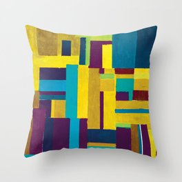 Squared1 Throw Pillow