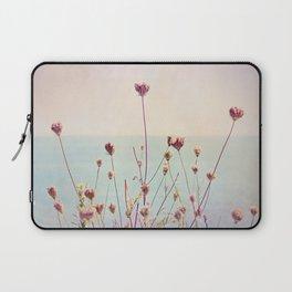 Beach Flowers Laptop Sleeve