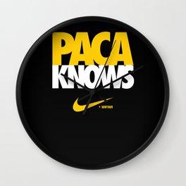 Paca Knows - WiFIW!! Series Wall Clock