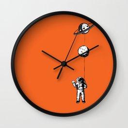 Niño moon Wall Clock