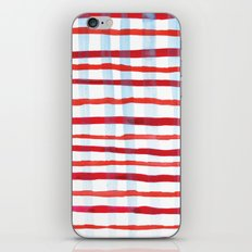 Plaid iPhone & iPod Skin