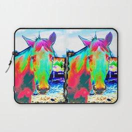 NEON HORSE Laptop Sleeve