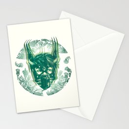 EXECUTIONER - FLORAL Stationery Cards