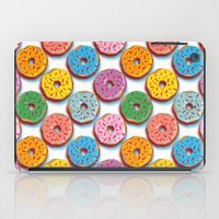 donuts iPad Cases featuring Donuts by Helene Michau