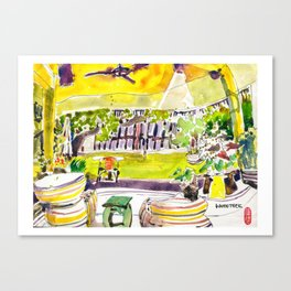 20161126 Villa Phra Sumen Asialink Bangkok 2016 Canvas Print