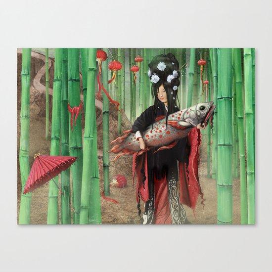 Bambooo Canvas Print