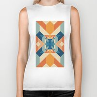 sacred geometry Biker Tanks featuring Sacred Geometry by defyeyes