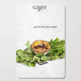 La Cuisine Fusion - Pastel de Nata Salad Cutting Board