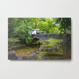 Ambleside Stone Bridge Metal Print