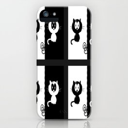 Cat and Mouse iPhone Case