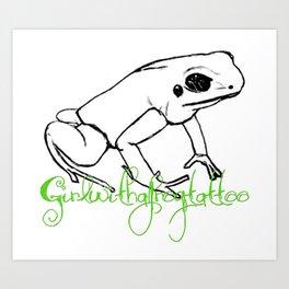 GWAFT logo Art Print