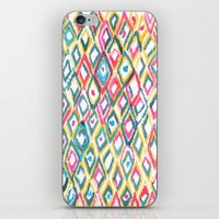 ikat iPhone & iPod Skins featuring IKAT by  Ray Athi