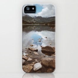 Mountain Lake - Landscape and Nature Photography iPhone Case