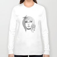 fairies Long Sleeve T-shirts featuring Fairies by Bambi-boo