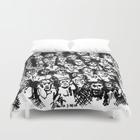 rush Duvet Covers featuring Rush Hour by Andooga Design
