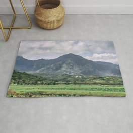 Mountains of Kauai Rug