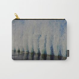 Lake Michigan Natural Fountains #4 (Chicago Waves Collection) Carry-All Pouch