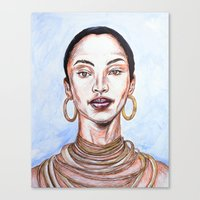 soldier Canvas Prints featuring SOLDIER by jhighart