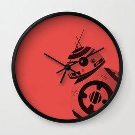 BB8 Red Wall Clock