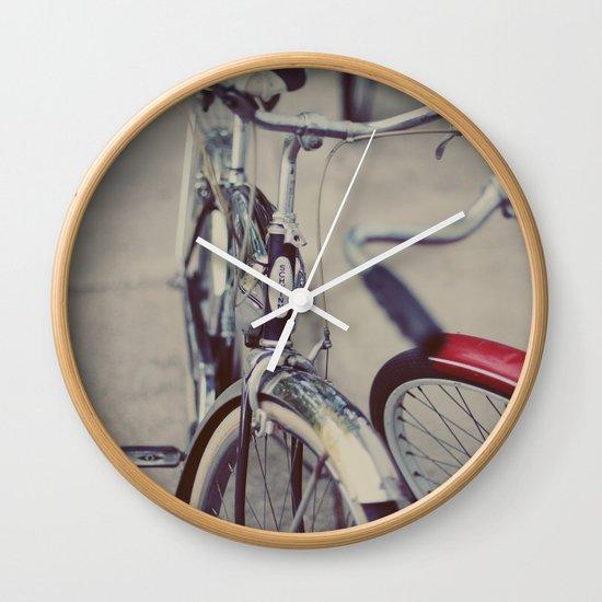 Summer Rides Wall Clock