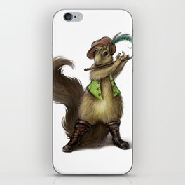 """Chewey Nougat"" The Squirrel iPhone Skin"