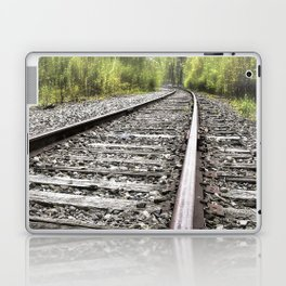 A Track Through The Woods Laptop & iPad Skin