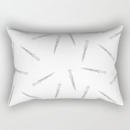 The Dark One's Dagger Rectangular Pillow
