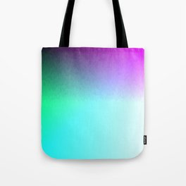 Rainbow ombre flames Tote Bag
