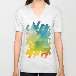 Colorful Day Unisex V-Neck