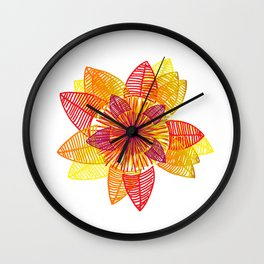 Sunshine Daisy Wall Clock