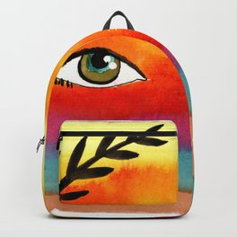 sunset eyes Backpack